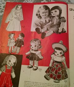 Alice Brooks Designs, Vintage patterns, 1960s patterns,Lace table cloth, vintage aprons and kitchen towels, doily and mittens, toys and doll by Vintagepetalpushers on Etsy