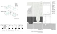 Image 3 of 16 from gallery of Bauhaus Museum Finalist Acts as a Gate Between City and Park. Diagrammation and Details. Image Courtesy of Guerra De Rossa Arquitectos + Pedro Livni Arquitecto Bauhaus, Diagram, Floor Plans, Museum, Park, City, Gallery, Presentation Boards, Green Roofs