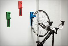 endo-bicycle-wall-mount. Garage storage for any shape bike