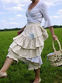 wedding apron by malphi rustic chic by Verity Hope, via Flickr