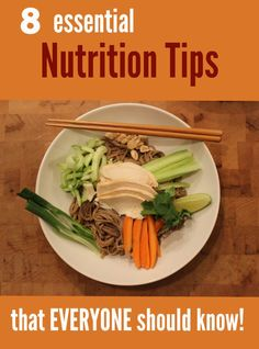 8 Essential Nutrition Tips that EVERYONE Should Know - Get the facts on basilmomma.com