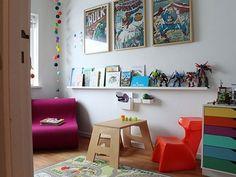 nursery, kid's bedroom (shelf)   dwell studio