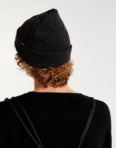 Pull&Bear - ανδρικά - αξεσουάρ - καπέλα και σκούφοι - πλεκτό καπελάκι σε διάφορα χρώματα - γκρι βιγκουρε - 09832500-V2018
