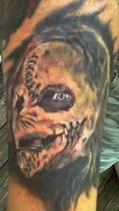 My husband Paul's tattoo of Corey from Slipknot! Mask Tattoo, I Tattoo, Corey Taylor, Slipknot, Metal Bands, Pretty Cool, Tatoos, Ink, Badass