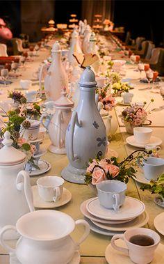 Bridal tea party at Walt Disney World inspired by Alice in Wonderland