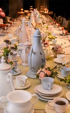 Bridal tea party at Walt Disney World inspired by Alice in Wonderland