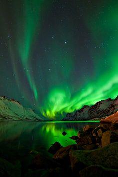 Ersfjord, Troms, Norway.