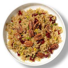 Cranberry-Pecan Quinoa Pilaf