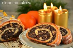 Najlepszy makowiec - niebo na talerzu Sweet Recipes, Sushi, Muffin, Holiday, Christmas, Breakfast, Ethnic Recipes, Cakes, Food Cakes