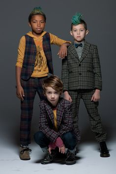 La miniatura for boy #kids #fashion ((I'd like to do this with all of the bros, if DJ would cooperate :)))