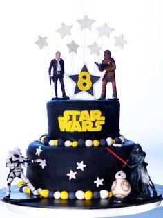 Star Wars Birthday Cake!