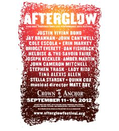 The #AfterglowFestival Invades #Provincetown This Week | @HuffPostGay #AlternativeArts #FallFun #Ptown