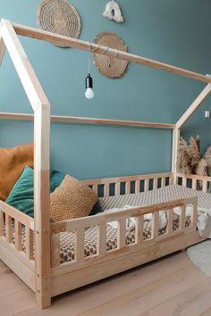 Toddler Bed, Kids Room, Bedroom, Furniture, Flamingo, Home Decor, Child Bed, Flamingo Bird, Room Kids