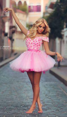Very nice pink dress