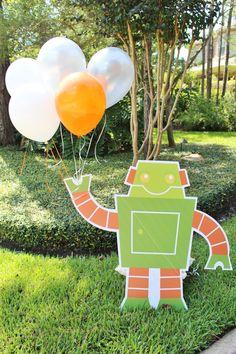 Robot Factory Birthday Party Idea - Shindigz