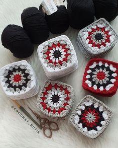 Crochet Ripple Blanket, Granny Square Crochet Pattern, Crochet Blocks, Crochet Diagram, Crochet Squares, Crochet Granny, Crochet Motif, Crochet Baby, Crochet Patterns