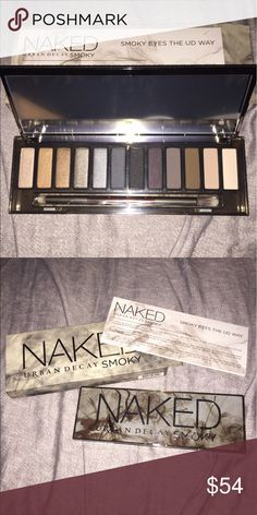 NIB AUTHENTIC Urban Decay Naked Smoky Palette 100% Authentic, new in box Urban Decay Naked Smoky Palette. Urban Decay Makeup Eyeshadow