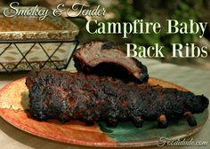 "#Msg 4 21+"" Smokey & Tender Campfire Baby Back Ribs #HogWildThrowdown #CollectiveBias #Ad"