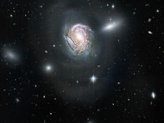 The Coma Cluster is a group of galaxies in the faint constellation Coma Berenices, visible in medium to large amateur telescopes.