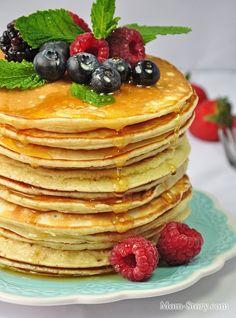 Американские панкейки классический рецепт - Mom Story
