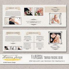 Photographer Price List  Photography Package by TiramisuDesign, $8.99