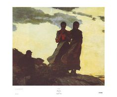 Early Evening Winslow Homer Fine Art Print Poster