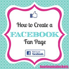 Hoot Mama Lockets: Create a Facebook Fan Page for Your Origami Owl® Business