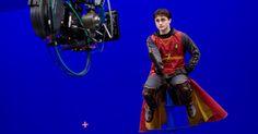 Como são criados os efeitos especiais de Harry Potter