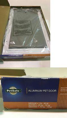 Doors and Flaps 116379: Petsafe 8.25 In. X 12.25 In. Medium Freedom Aluminum Pet Door New -> BUY IT NOW ONLY: $37.49 on eBay!