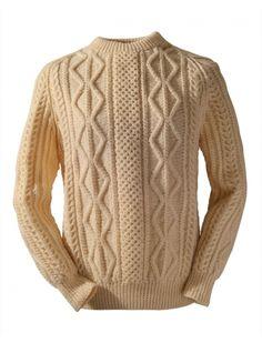 O'Keeffe Clan Irish Aran sweater
