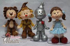 Kit Mágico de Oz (4 peças - 20cm)