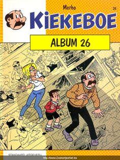 'Album 26' van De Kiekeboes is verkozen tot beste Belgische strip.