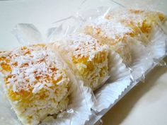Bolo gelado de coco com laranja | Vivi Araújo - Yahoo! Mulher