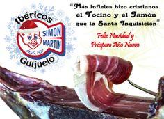 Simón Martín Guijuelo os desea ¡ Felices Fiestas !