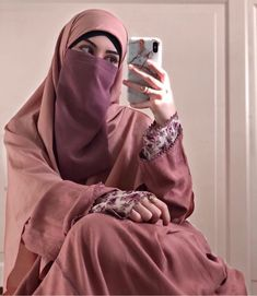 Niqab Fashion, Modest Fashion Hijab, Muslim Fashion, Modest Outfits, Arab Girls Hijab, Girl Hijab, Swag Girl Style, Muslim Beauty, Islamic Girl