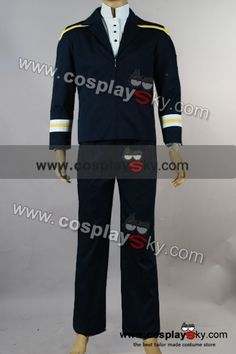 Star Trek Enterprise Archer Uniform Jumpsuit Costume Set-1