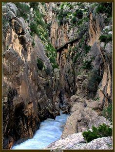 Desfiladero de los Gaitanes-Ardales-Málaga-España