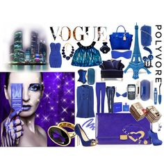 """Blue"" by yamyiy on Polyvore"