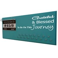 Grateful & blessed - running medal holder - Use our running medal holder to display all your race medals. We offer a huge variety of medal hanger with running quotes for women and men. Our medal displays are the most acclaim on the web. Starting at$24.99 only.