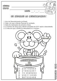 Pedagogiccos Dia Do Descobrimento Do Brasil Atividades Com