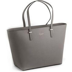 Kate Spade New York Cedar Street Medium Harmony Leather Tote Bag ($179) ❤ liked on Polyvore