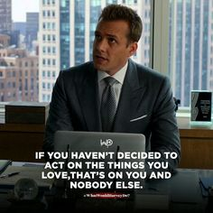 The second you decide that this life is solely your responsibility, things start to change. Act. Execute. Stop pondering over shit! . . #whatwouldharveydo #harveyspecter #harveyspecterquotes #motivationalquotes #gabrielmacht #work #garyvee #dowhatyoulove #wwhd