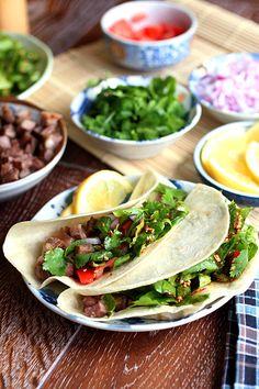 Korean Kalbi Taco - very similar to the Kogi Taco you can get in LA.