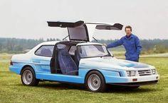 Saab 900 prototype by Leif Mellberg