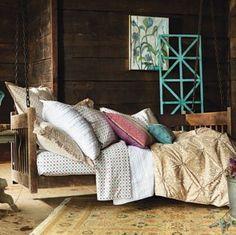 SKY Bedding, Fleuri Full Queen Duvet Cover and Sham Set