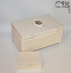 Große Schmuckbox / Schmuckkasten Box wood für von UltroViolet