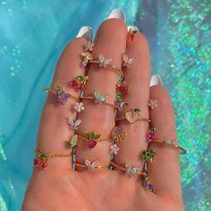 Stylish Jewelry, Dainty Jewelry, Cute Jewelry, Fashion Jewelry, Nail Jewelry, Jewelry Accessories, Jewelry Design, Cute Rings, Pretty Rings