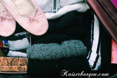 Oprydning og Marie Kondo. Rangement et Marie Kondo.