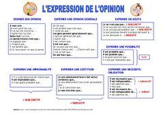 Expression de l'opinion by lebaobabbleu via slideshare