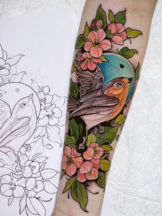 I have this bad boys Up for grabs at the 🔥 I'm making half price for March cause i really wanna do this beauties… Mom Tattoos, Future Tattoos, Body Art Tattoos, Sleeve Tattoos, Tattoos For Women, Tattoo Ink, Neo Tattoo, Traditional Tattoo Flowers, Neo Traditional Tattoo